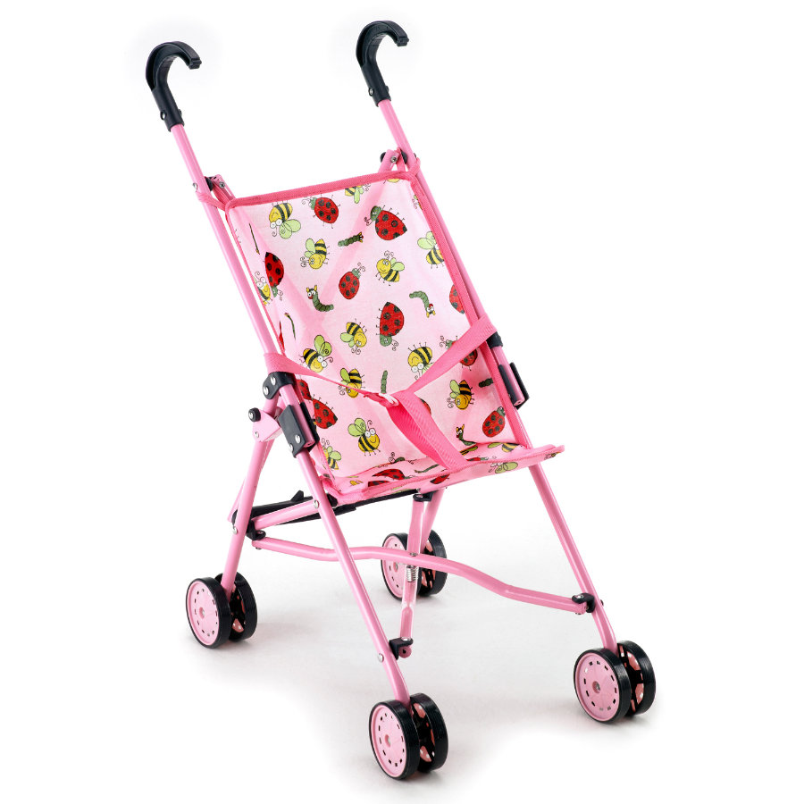 BAYER CHIC 2000 Mini-Buggy dockvagn, rosa 600 05