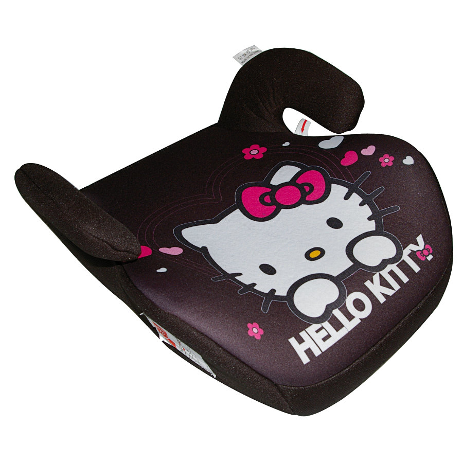 KAUFMANN Kindersitzerhöhung Hello Kitty black
