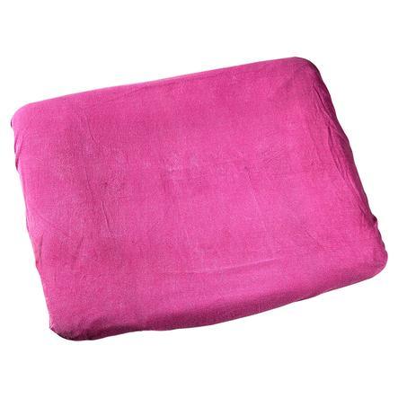 ODENWÄLDER Badstof aankleedkussenhoes 75 x 85 cm pink