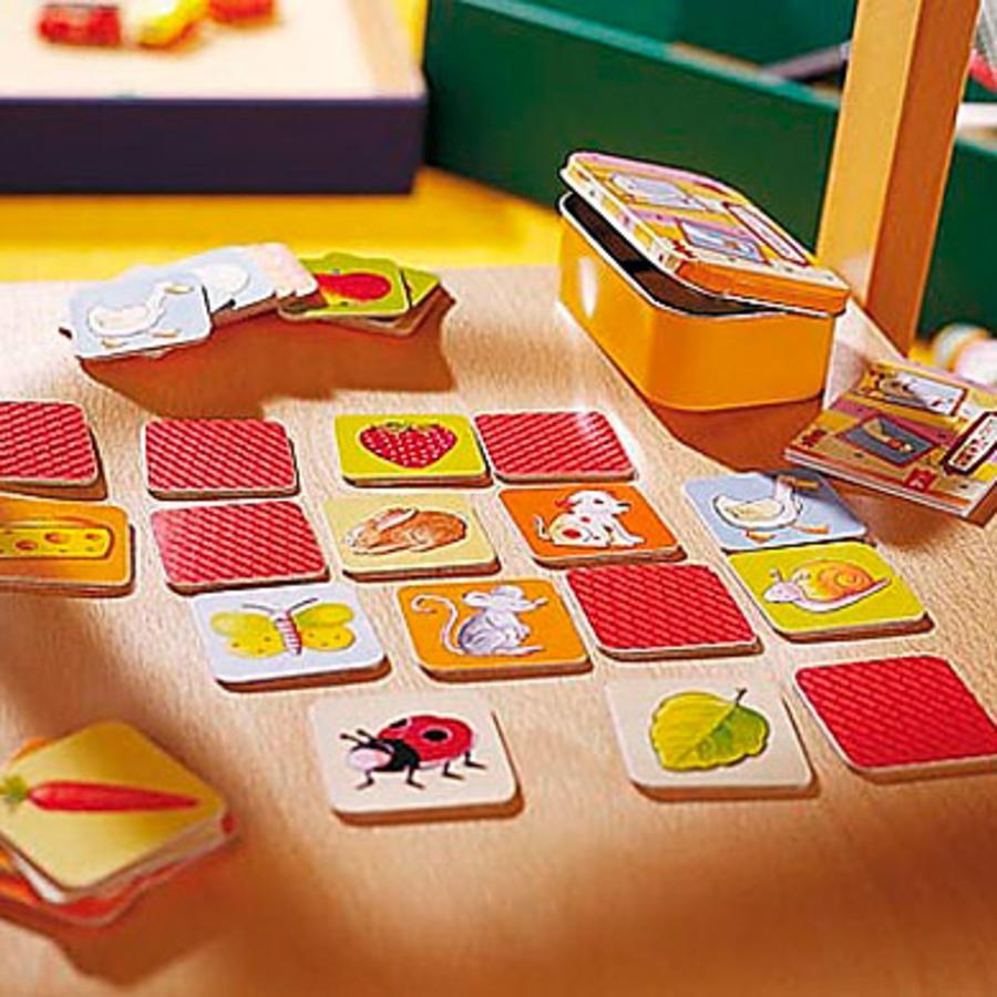 HABA Spiel in der Dose Mini - Memo 2562