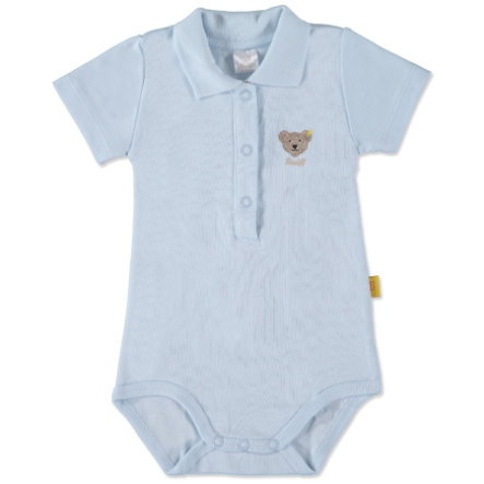 STEIFF Boys Baby Body 1/4 Sleeve baby blue