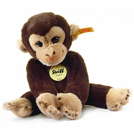 STEIFF Monkey Koko, dark brown, 25 cm