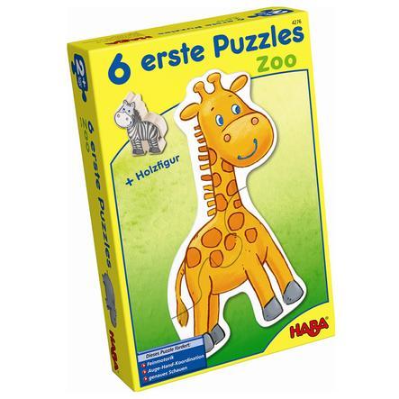 HABA 6 premiers puzzles - Le zoo 4276