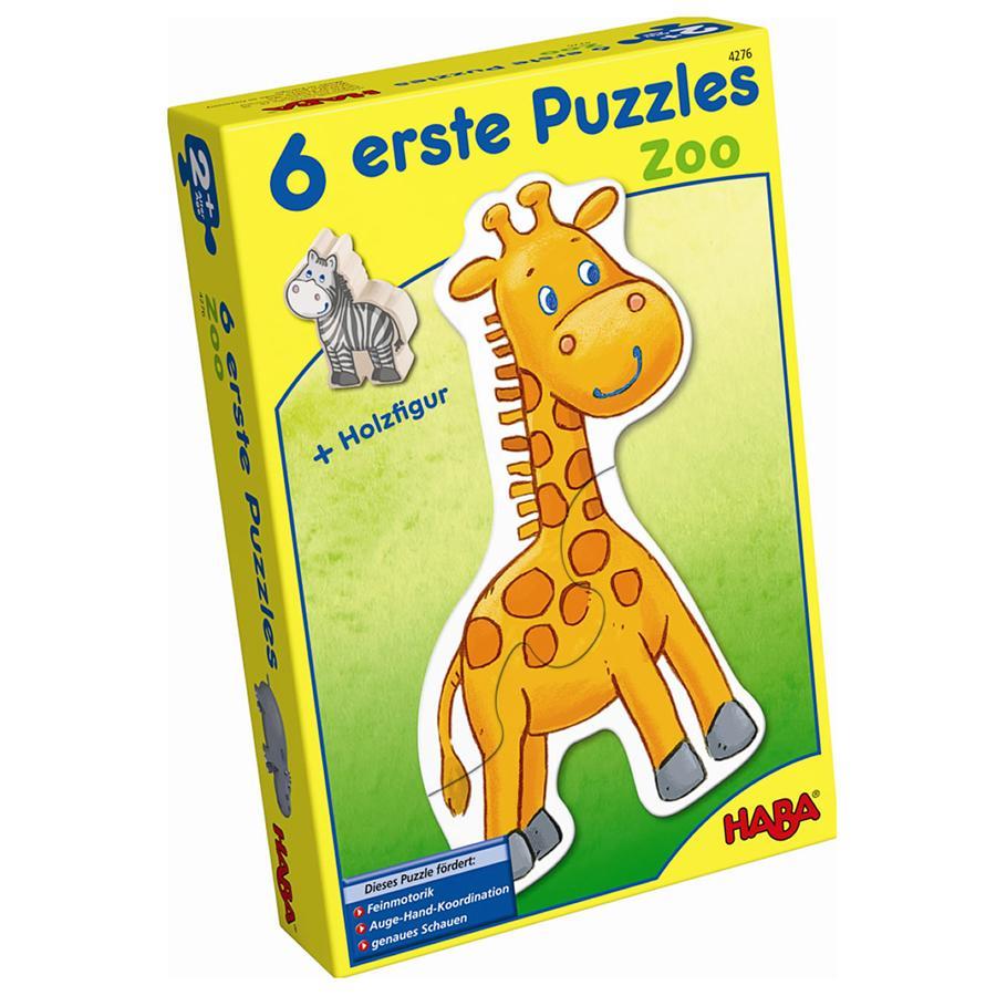 HABA 6 Erste Puzzle Zoo 4276