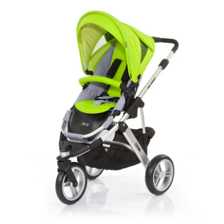 ABC DESIGN Kinderwagen Cobra lime Gestell silver / graphite