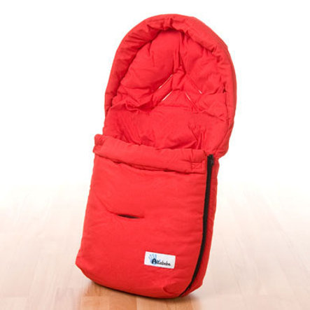ALTA BÉBE Infant Car Seat Summer Footmuff Red 2010 Collection