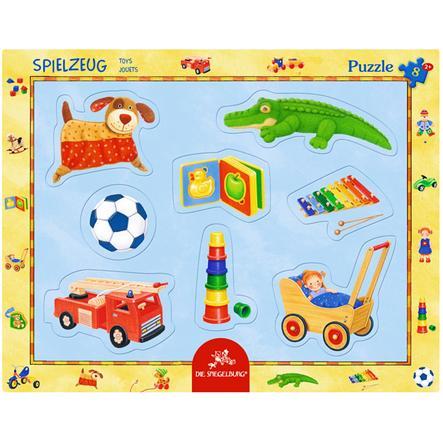 COPPENRATH Kaderpuzzel met vingergatponsen - speelgoed (8 stuks)