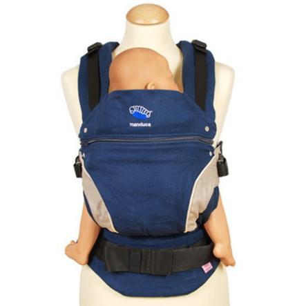 MANDUCA Marupio ergonomico neonato - Blu Navy