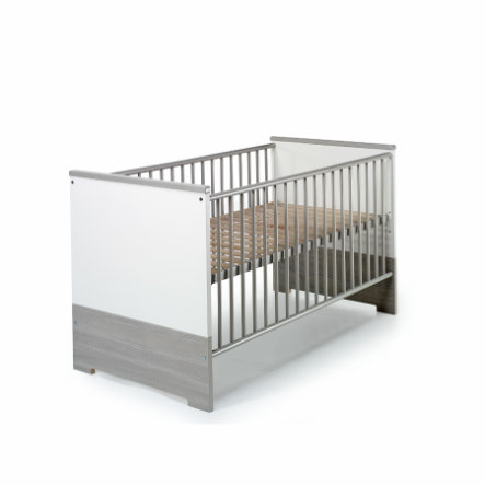 Schardt Kombi-Kinderbett Eco Silber