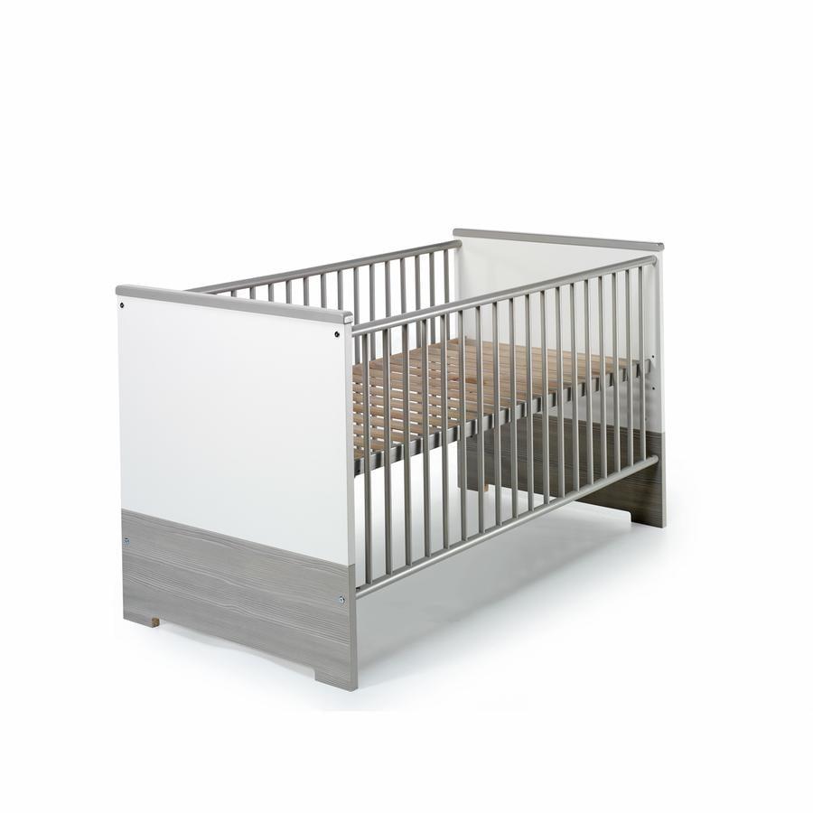 SCHARDT Eco Silber Lit bébé évolutif 70x140 cm