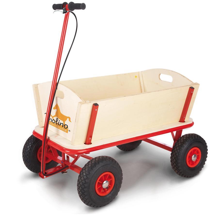 PINOLINO Trækvogn Til med bremse