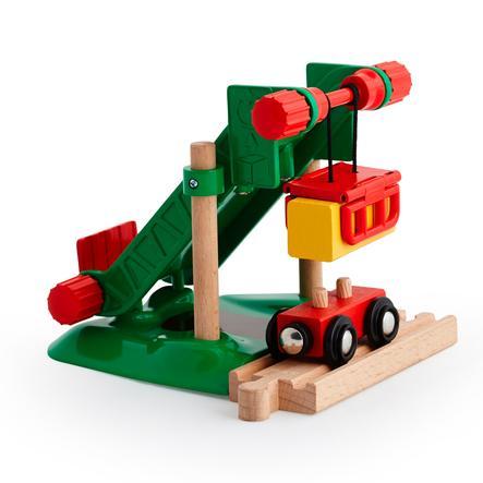 BRIO Vláčkodráha - nakládací rampa