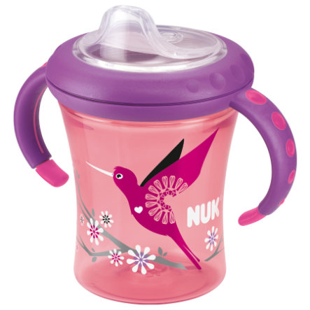 NUK Easy Learning Starter Cup Soft- Silicone drinktuit 220ml rood