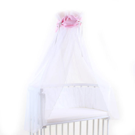 babybay Hemeltje roze/wit 200 x 135 cm