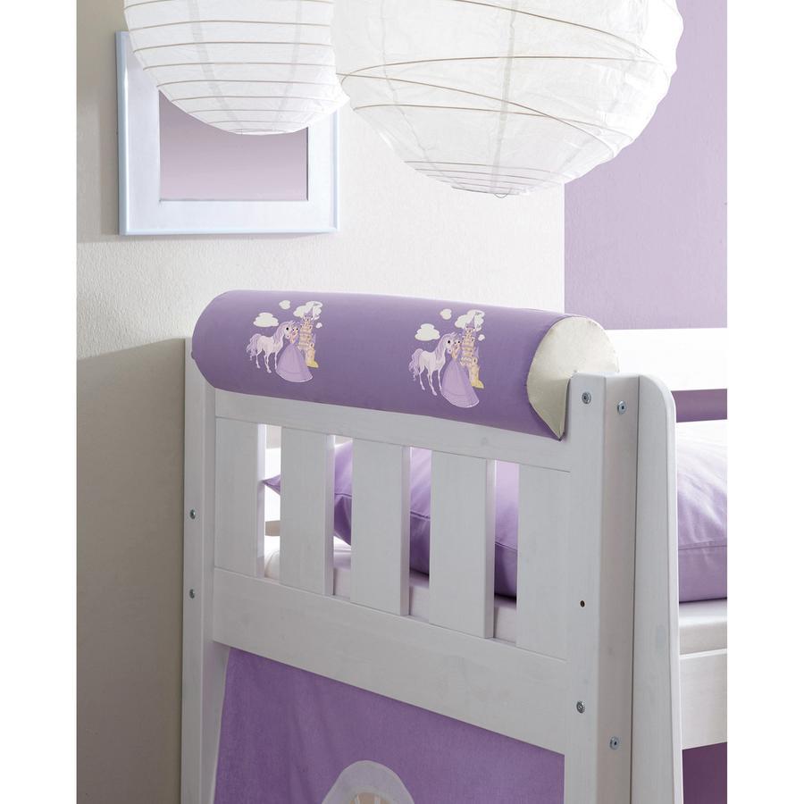 TICAA Rouleau tête de lit Horse-violet