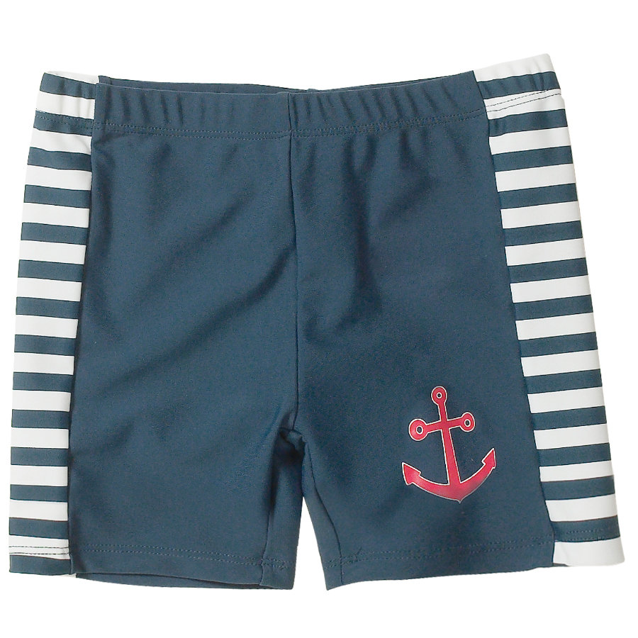 PLAYSHOES Short de bain garçon Protection UV MARITIME marine