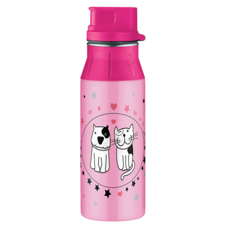 ALFI elementBottle Flaska, CATS AND DOGS 0,6 l