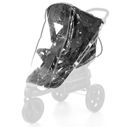 HAUCK Folia przeciwdeszczowa na wózek typu spacerówka 3-kołowa, przezroczysta