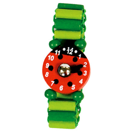 BINO náramkové hodinky zelené