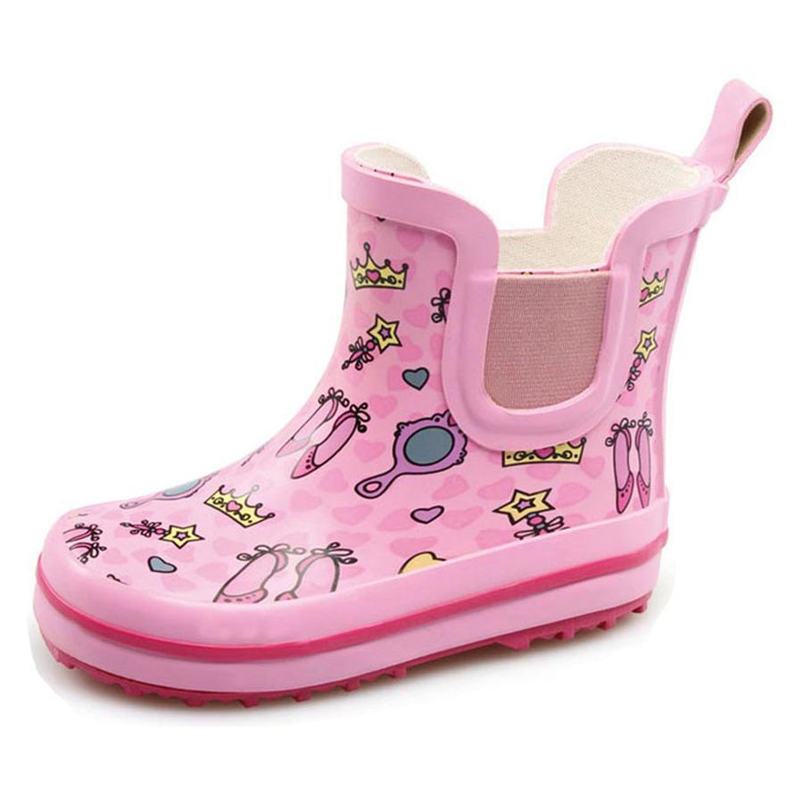 BECK Girl 's rubberen laarzen PRINZESSIN roze