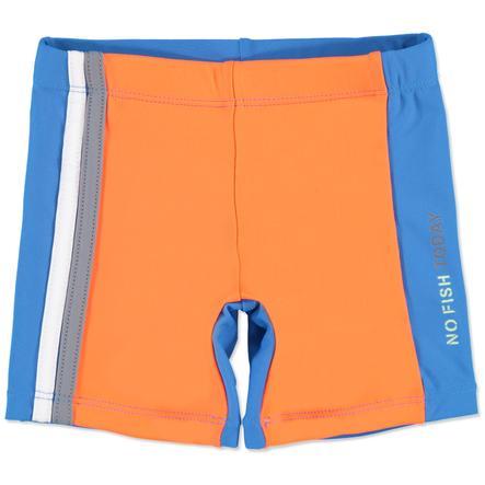 anna & tom UV-skydd Badshorts - blå/orange