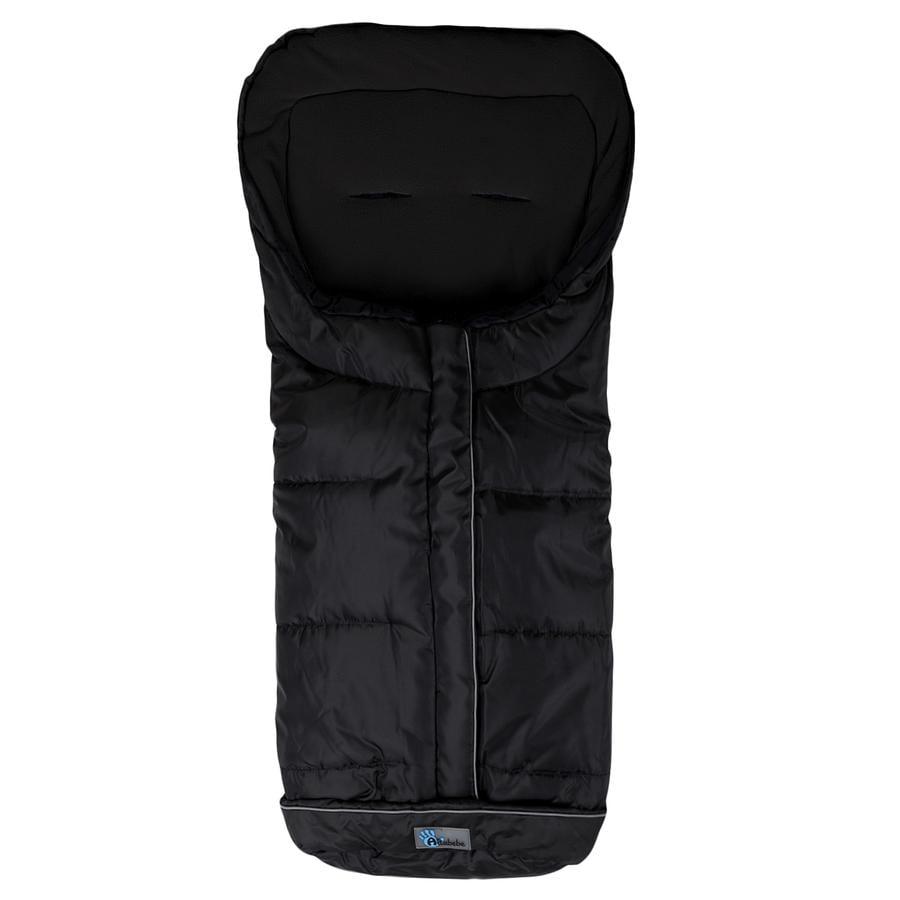 Altabebe Winterfußsack Active XL mit ABS für Kinderwagen Schwarz-Schwarz