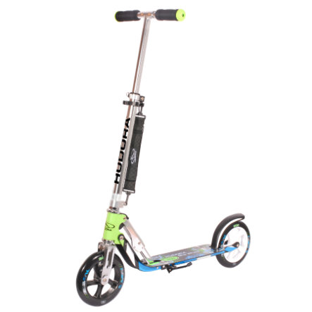 HUDORA Scooter Big Wheel 205 blauw/groen 147