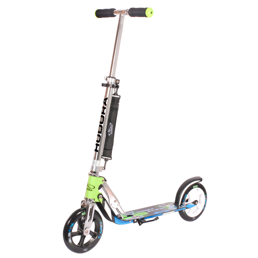 HUDORA Monopattino Big Wheel 205 blu/verde 14750