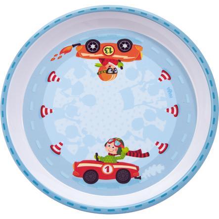 HABA Melaminový talířek - Flotte autíčko 300405
