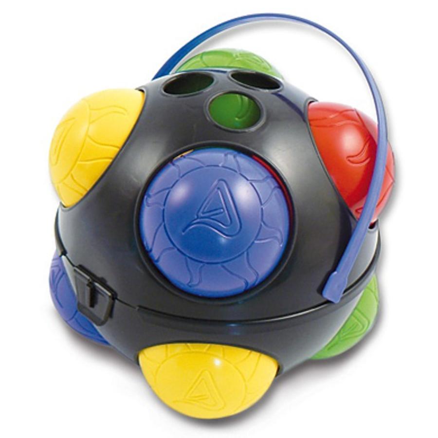SPIELMAUS Jeu de boccia avec 8 boules