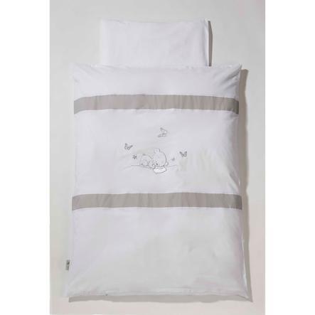 Easy Baby Parure de lit Dreambear, 80 x 80 cm, blanc