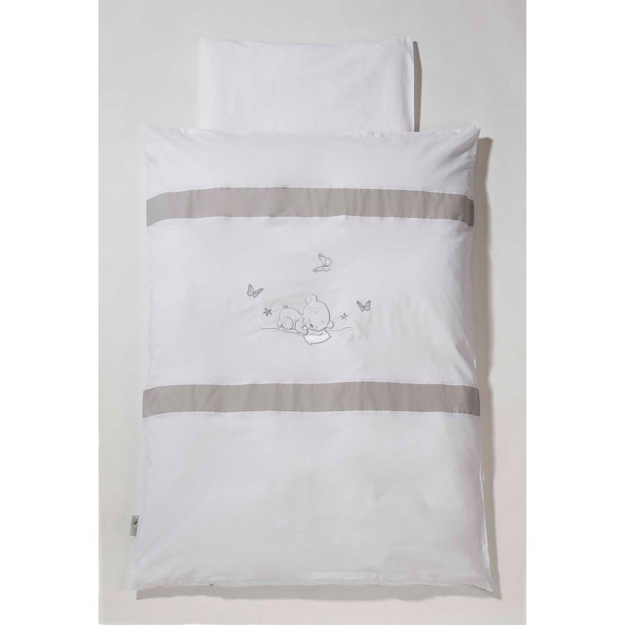 Easy Baby Set biancheria 80/80 Orsetto bianco