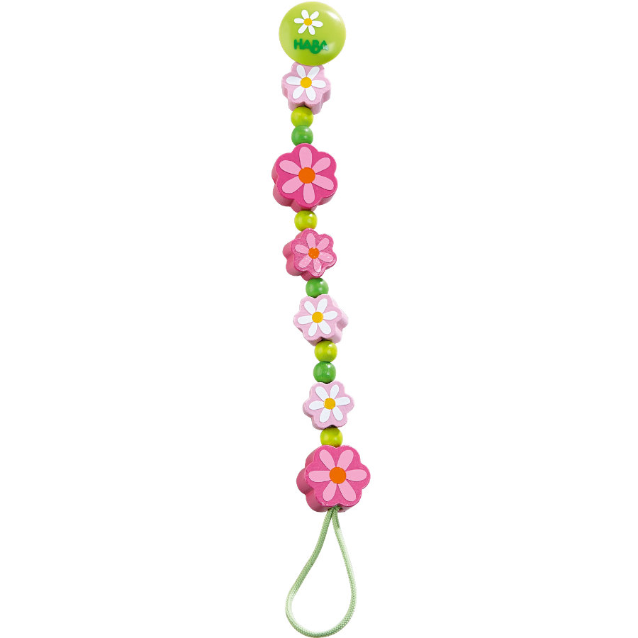 HABA Soother Chain Summer Flowers 300460