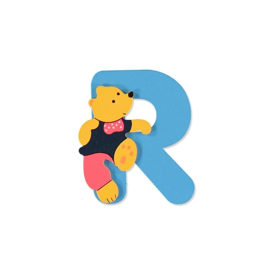 """BIECO Medvědí písmenko """"R"""""""