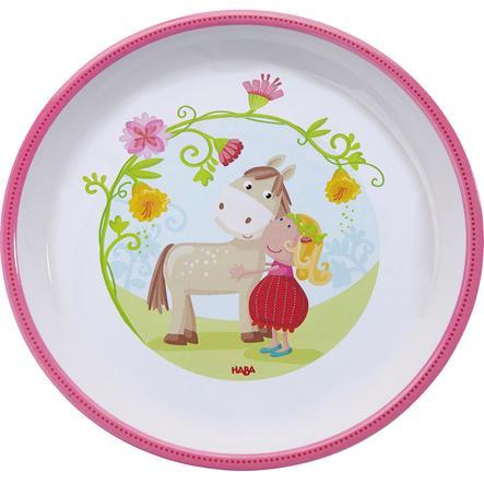 HABA Melaminový talíř, Vicki & Pirli 300387