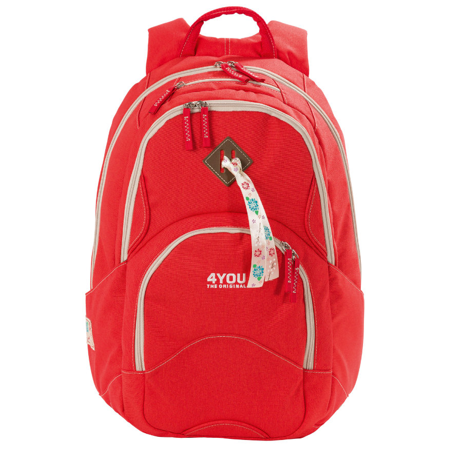 4YOU Flash RS Rucksack Flow 236-44 Just Red