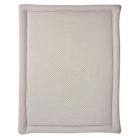 SCHARDT Hrací deka béžová s puntíky