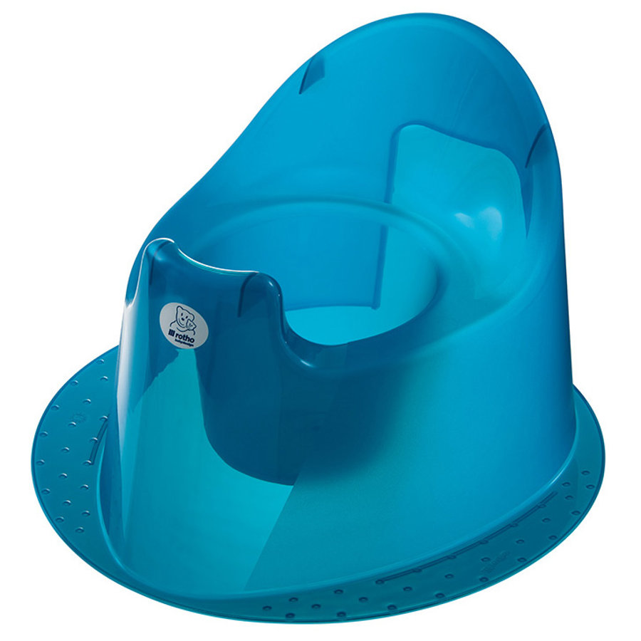 Rotho Babydesign Kindertopf TOP translucent blue