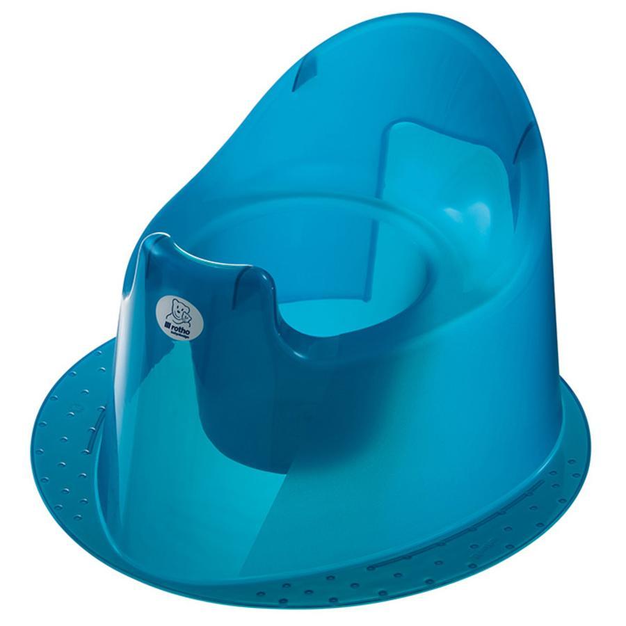 ROTHO Babydesign TOP Potta, sininen/läpinäkyvä