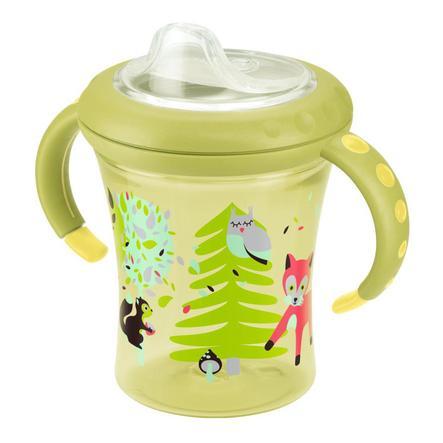 NUK Easy Learning Starter Cup Soft-Trinktülle aus Silikon 220ml gelb