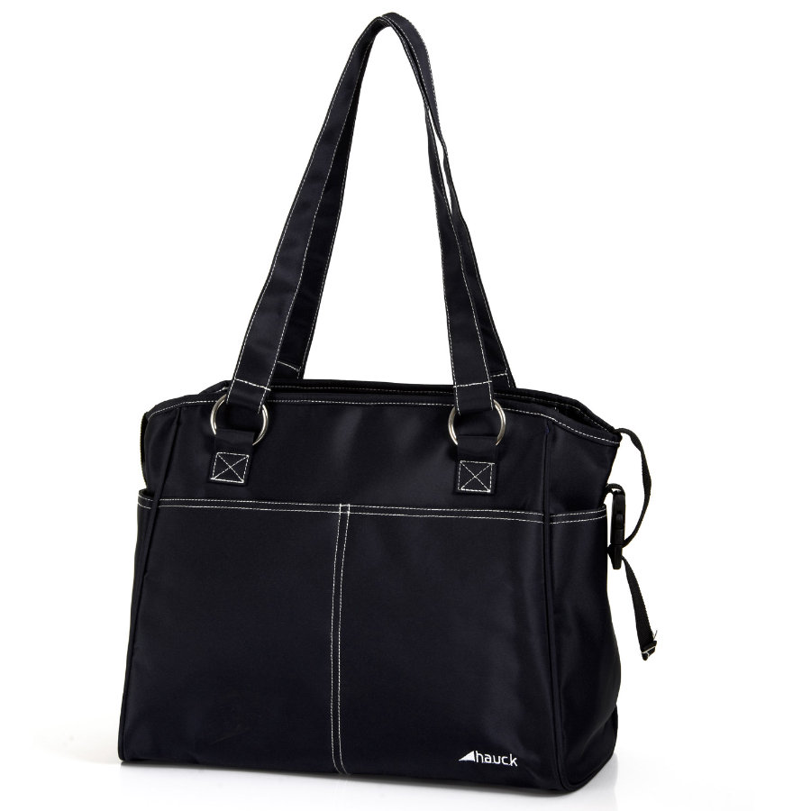 HAUCK Wickeltasche CITY BAG black