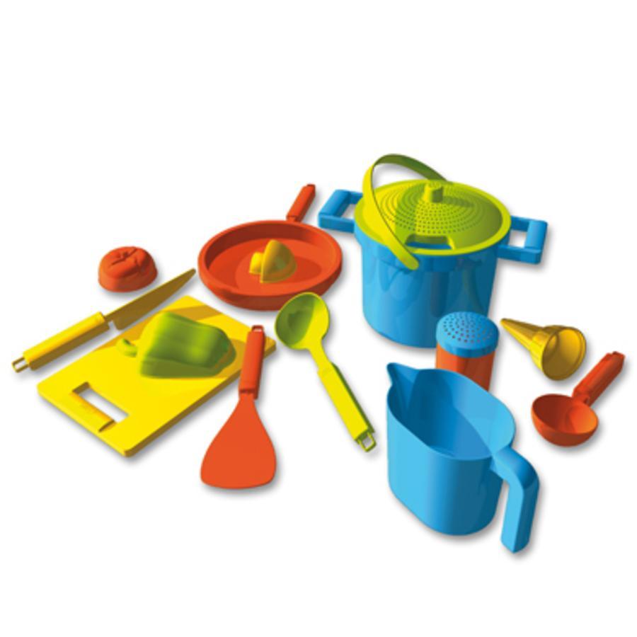 LENA Set de playa - Conjunto de pastelería 14 piezas