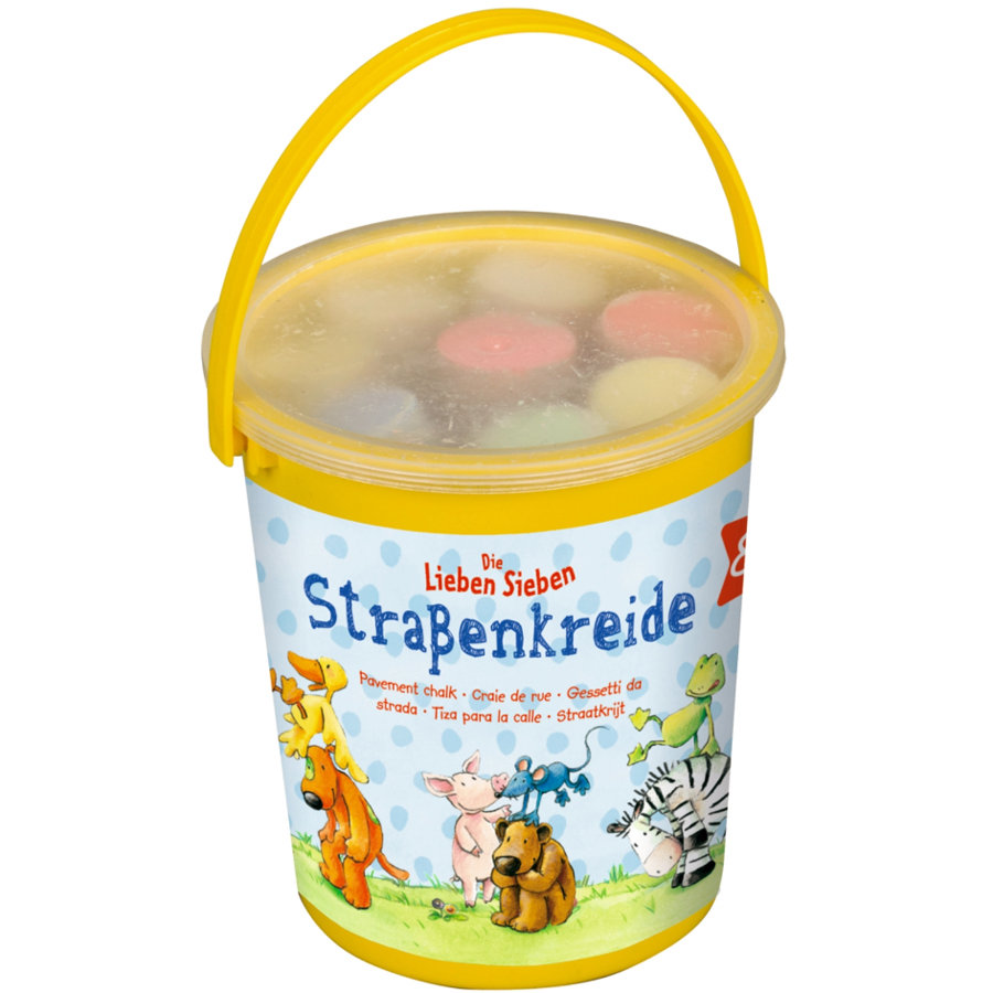 COPPENRATH Křídy na ulici v kyblíku - Die Lieben Sieben