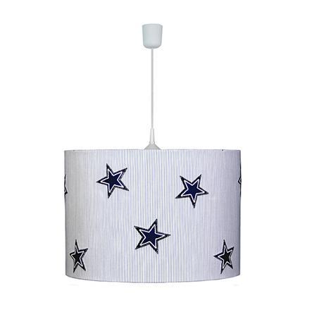 WALDI Lampa wisząca Gwiazdki denim