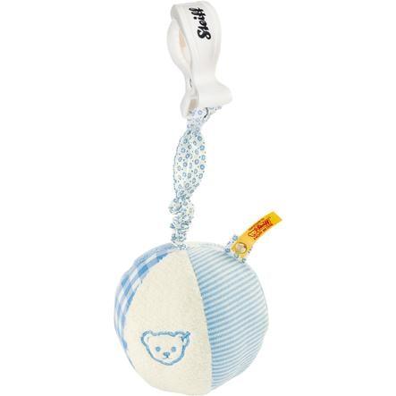 STEIFF Grzechotka Piłka 9cm kolor niebieski