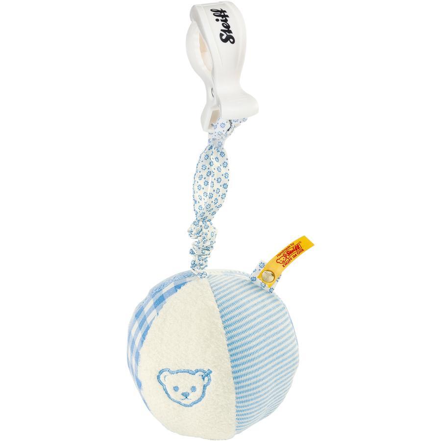 STEIFF Rassel-Knister-Ball 9 cm, blau