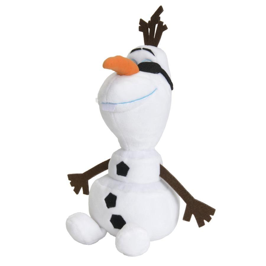 SIMBA Disney La Reine des Neiges - Olaf avec lunettes de soleil, 25 cm