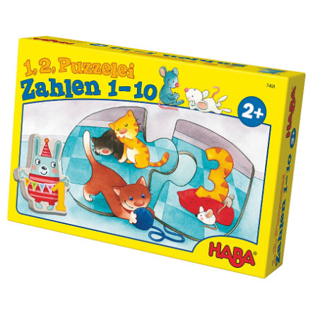 HABA 1,2 Puzzle Fun - Numbers 1-10