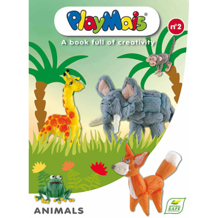 PlayMais® Kniha Animals