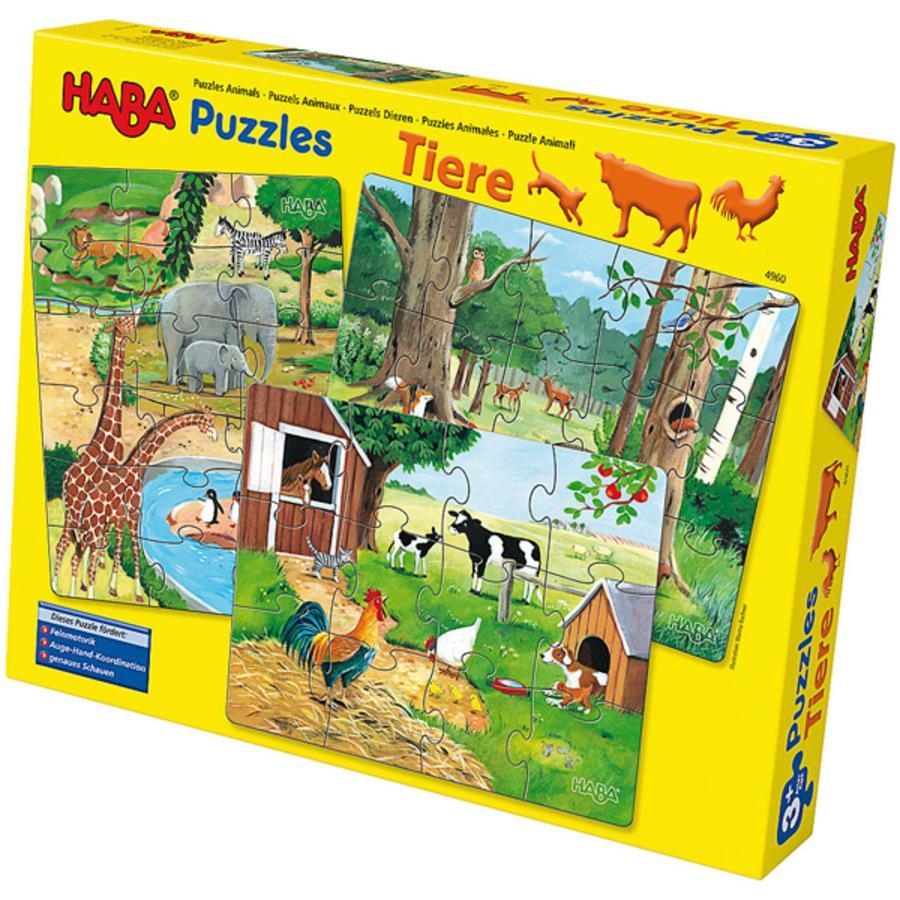 HABA Puzzle Animals